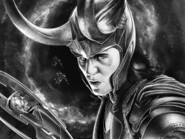 LOKI FINAL PRINT by corysmithart