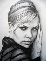 Charlize Theron by Maggy-P