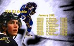 January 2012 Schedule Wallpaper by RealBadRobot