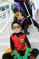 Damian And Steph By Danny Hunter by ComicChic19