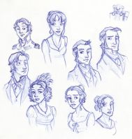 The Timidest of All Austen Heroines* by kuabci