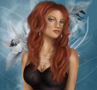 red head by Sodalith
