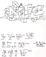 dope hieroglyphics sketch by boot-cheese-3000