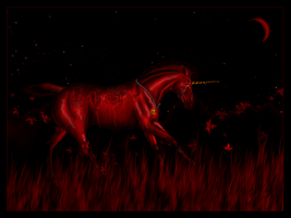 My World Is Painted Red... by Malcassairo