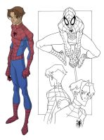 Unused Spidey by johnsonverse