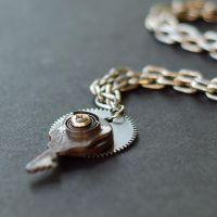 Steampunk Jewelry- Rusty Key by Tanith-Rohe