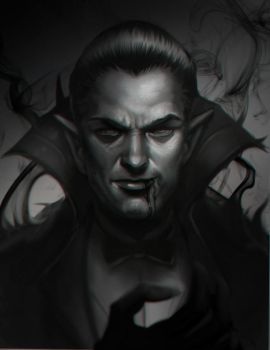 Classic Dracula by victter-le-fou