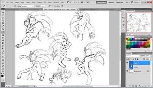 WIP Sonic Sketches and whatnot... by SiscoCentral1915