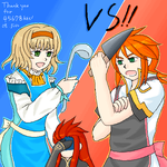 TOA- Love cooking battle by fiomama