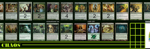 My Green Deck: Elfish Chaos : MTG by Redsundark