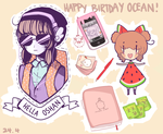 HAPPY BIRTHDAY OCEANTANN! by potatoe-sama