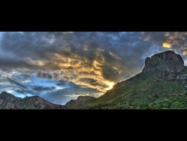 Emory Peak Panoramic HDR by phlezk