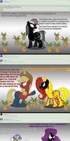 Ask Rainbow Venom #20 by Gamerpen