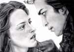 Twilight: Edward and Bella by tanjadrawing