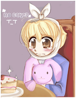 No Cake +sad+ by sakura02