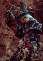 Valla Vampire Hunter cosplay by FirstKeeper