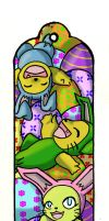 easter bookmark by windflame