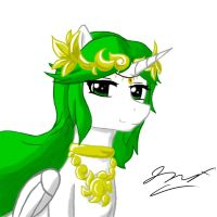 Lady Palutena Pony by Graypelt