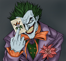 The Joker - Soft colors by AerianR