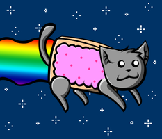 Nyan Cat by Sushibeth