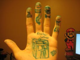 My Hand by DrSlavic