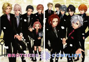 Brothers Conflict by ookami-lover