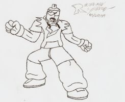 New version of Marker Man by Reploid-Man