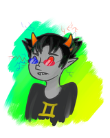 Sollux Doodle by KaoKay