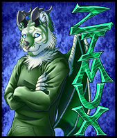 Zimux Badge by SilasAgnostos