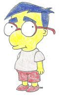 Lil Milhouse by TheSimpsonsFanGirl