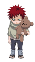 Render Childhood Gaara by Marcinha20