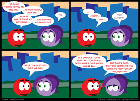 SC272 - Ed's Reaction by simpleCOMICS