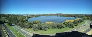 Lake Burley Griffin - Pano by kayandjay100