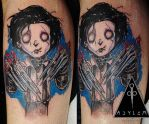 Edward Scissorhands by dottcrudele