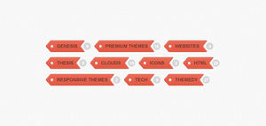 TAG CLOUD WITH POST COUNT (PSD) by FreePSDDownload