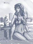 Beach GTS sketch by First-Second