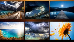 Beauty Side Widget for xwidget by jimking