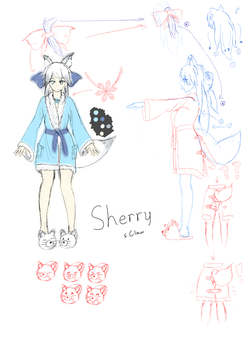 Sherry [Original Mascot] by s-Claw