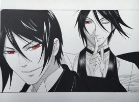 Sebastian Michaelis by stephaniessf