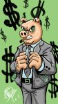 corporate greed  by marz76