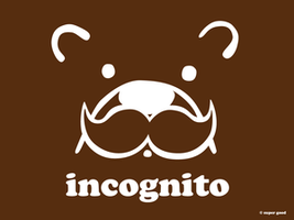 incognito bear by ilovegravy