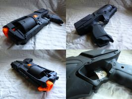Modified NERF Strongarm by MarcWF