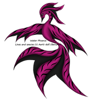 Pink Tiger Water Phoenix Adopt OPEN by aerti-doll