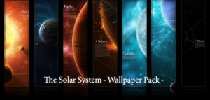 Wallpaper Pack : Solar System by licoti