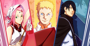 Naruto Chapter 700 - Team Seven by King--Sora