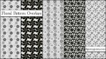 Floral Pattern Overlays Set 1 by ibjennyjenny