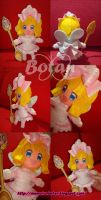 chibi Vanilla plush version by Momoiro-Botan