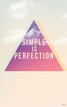Simple is Perfection by AnjosArt