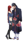 Shiroi and Itachi by Hakihaku by CancerTheGiantCrab