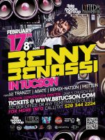 benassi in tuscon flyer by sounddecor